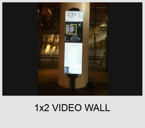 4x4 Video wall